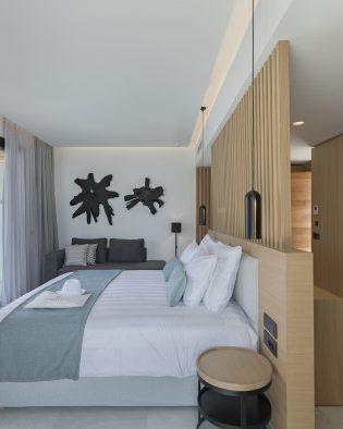 Private luxury swim-up suite Kos Greece